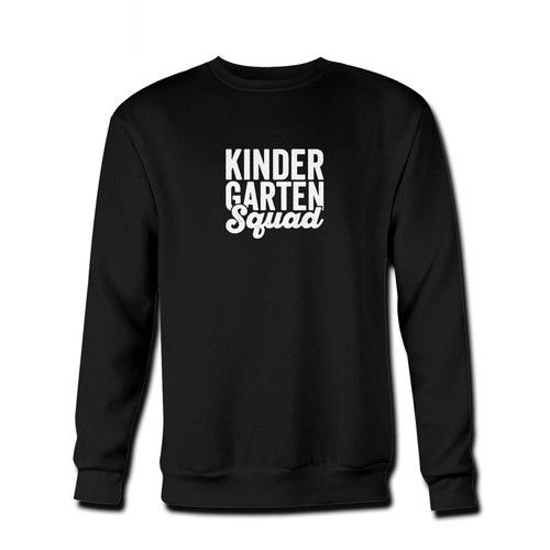 Your Teacher Squad Kindergarten Squad First Second Fresh Best Crewneck Sweatshirt just got an update. This super comfortable and lighter weight crewneck will become your favorite go-to sweatshirt. The cozy spandex cuffs and waistband make this pill-resistant sweatshirt a fan favorite.And your group will look and feel their best in this premium ringspun cotton crew.