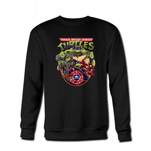 Your Teage Mutant NinjaTurtles Avenger Fresh Best Crewneck Sweatshirt just got an update. This super comfortable and lighter weight crewneck will become your favorite go-to sweatshirt. The cozy spandex cuffs and waistband make this pill-resistant sweatshirt a fan favorite.And your group will look and feel their best in this premium ringspun cotton crew.