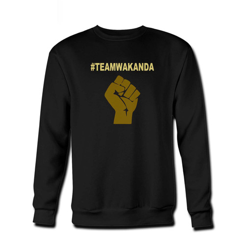 Your Team Wakanda Black Panther Fresh Best Crewneck Sweatshirt just got an update. This super comfortable and lighter weight crewneck will become your favorite go-to sweatshirt. The cozy spandex cuffs and waistband make this pill-resistant sweatshirt a fan favorite.And your group will look and feel their best in this premium ringspun cotton crew.