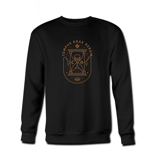Your Tempus Edax Rerum Fresh Best Crewneck Sweatshirt just got an update. This super comfortable and lighter weight crewneck will become your favorite go-to sweatshirt. The cozy spandex cuffs and waistband make this pill-resistant sweatshirt a fan favorite.And your group will look and feel their best in this premium ringspun cotton crew.