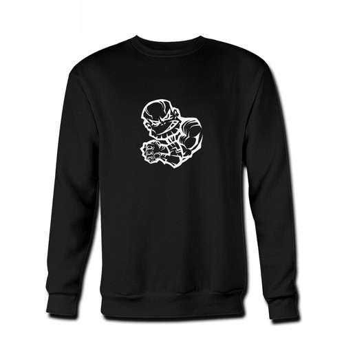 Your Thanos - Infinity Stones Club Fresh Best Crewneck Sweatshirt just got an update. This super comfortable and lighter weight crewneck will become your favorite go-to sweatshirt. The cozy spandex cuffs and waistband make this pill-resistant sweatshirt a fan favorite.And your group will look and feel their best in this premium ringspun cotton crew.