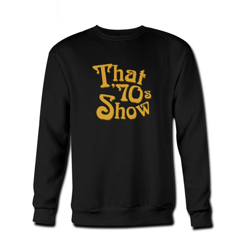 Your That 70s Show Fresh Best Crewneck Sweatshirt just got an update. This super comfortable and lighter weight crewneck will become your favorite go-to sweatshirt. The cozy spandex cuffs and waistband make this pill-resistant sweatshirt a fan favorite.And your group will look and feel their best in this premium ringspun cotton crew.