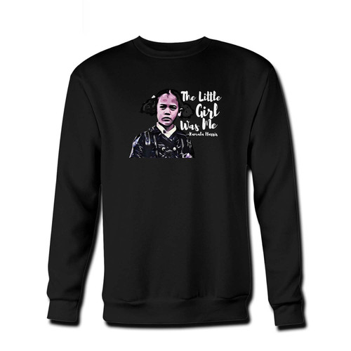 Your That Little Girl Was Me Kamala Harris Fresh Best Crewneck Sweatshirt just got an update. This super comfortable and lighter weight crewneck will become your favorite go-to sweatshirt. The cozy spandex cuffs and waistband make this pill-resistant sweatshirt a fan favorite.And your group will look and feel their best in this premium ringspun cotton crew.