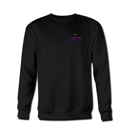 Your The 1975 Music Logo Fresh Best Crewneck Sweatshirt just got an update. This super comfortable and lighter weight crewneck will become your favorite go-to sweatshirt. The cozy spandex cuffs and waistband make this pill-resistant sweatshirt a fan favorite.And your group will look and feel their best in this premium ringspun cotton crew.