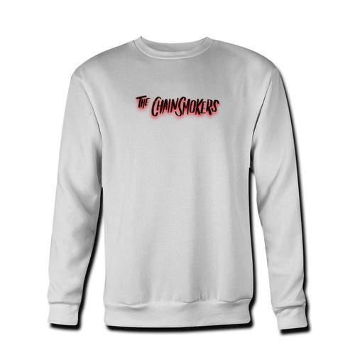 Your The Chainsmokers Logo Art Fresh Best Crewneck Sweatshirt just got an update. This super comfortable and lighter weight crewneck will become your favorite go-to sweatshirt. The cozy spandex cuffs and waistband make this pill-resistant sweatshirt a fan favorite.And your group will look and feel their best in this premium ringspun cotton crew.