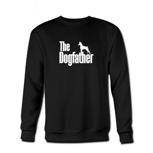 Your The Dogfather Miniature Pinscher Fresh Best Crewneck Sweatshirt just got an update. This super comfortable and lighter weight crewneck will become your favorite go-to sweatshirt. The cozy spandex cuffs and waistband make this pill-resistant sweatshirt a fan favorite.And your group will look and feel their best in this premium ringspun cotton crew.