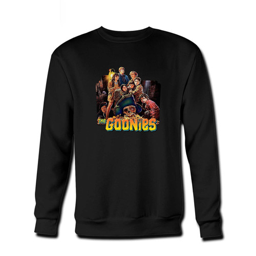 Your The Goonies Fresh Best Crewneck Sweatshirt just got an update. This super comfortable and lighter weight crewneck will become your favorite go-to sweatshirt. The cozy spandex cuffs and waistband make this pill-resistant sweatshirt a fan favorite.And your group will look and feel their best in this premium ringspun cotton crew.