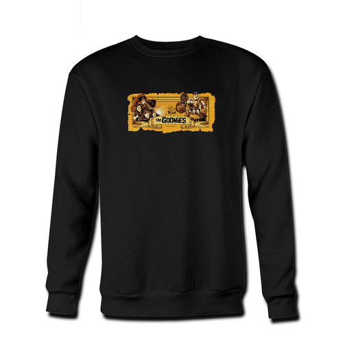 Your The Goonies Ii Fresh Best Crewneck Sweatshirt just got an update. This super comfortable and lighter weight crewneck will become your favorite go-to sweatshirt. The cozy spandex cuffs and waistband make this pill-resistant sweatshirt a fan favorite.And your group will look and feel their best in this premium ringspun cotton crew.
