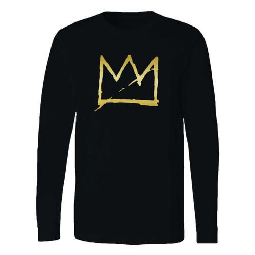 This classic fit basquiat crown jean michel long sleeve shirt is casually elegant and very comfortable. With fine quality print to make one stand out, it's a perfect fit for every occasion.
