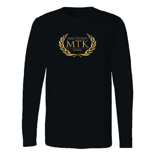 This classic fit tyson fury boxing club logo mtk global long sleeve shirt is casually elegant and very comfortable. With fine quality print to make one stand out, it's a perfect fit for every occasion.