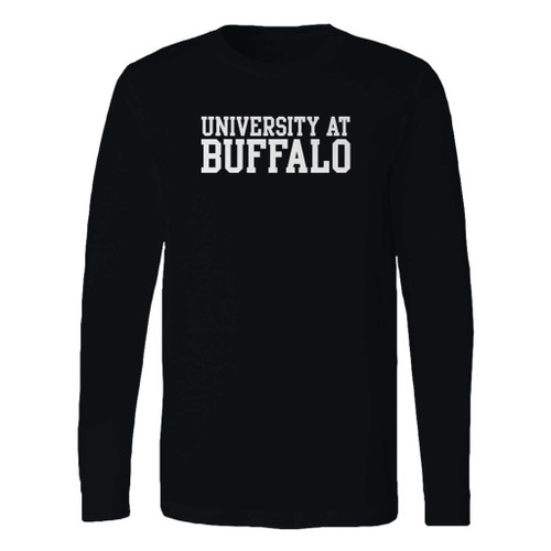 This classic fit university at buffalo basic block long sleeve shirt is casually elegant and very comfortable. With fine quality print to make one stand out, it's a perfect fit for every occasion.