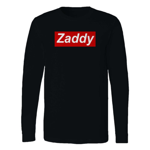 This classic fit zaddy custom long sleeve shirt is casually elegant and very comfortable. With fine quality print to make one stand out, it's a perfect fit for every occasion.