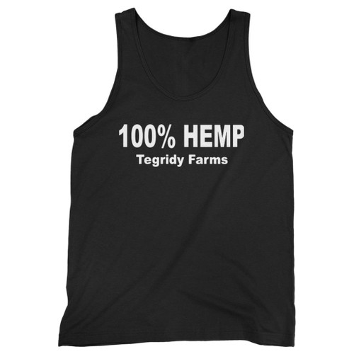 Our cotton 100% percent hemp tegridy farms men tank top is perfect for those intense workouts in the gym, at practice or pickup games.