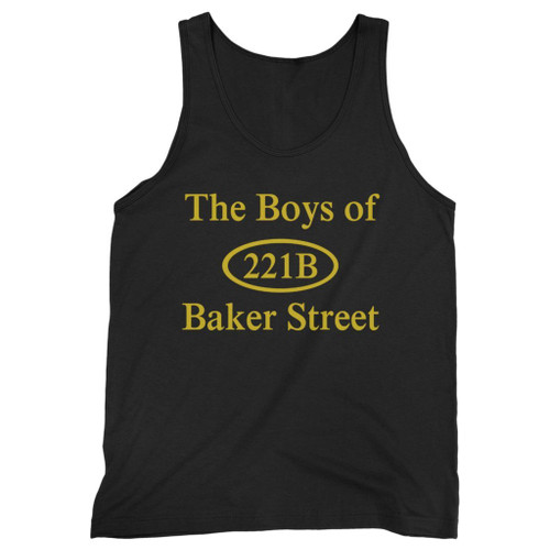 Our cotton 221b baker street men tank top is perfect for those intense workouts in the gym, at practice or pickup games.