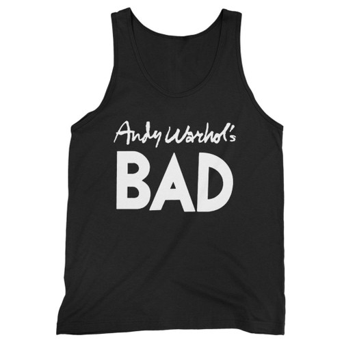 Our cotton andy warhols bad men tank top is perfect for those intense workouts in the gym, at practice or pickup games.