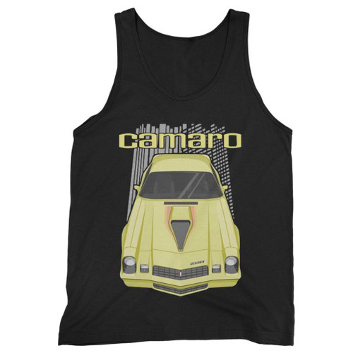Our cotton chevrolet camaro men tank top is perfect for those intense workouts in the gym, at practice or pickup games.