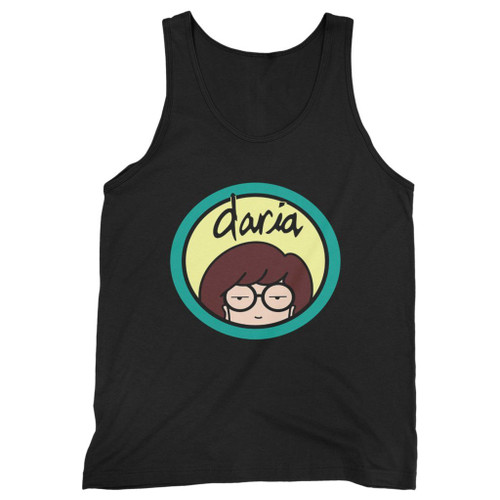 Our cotton daria logo men tank top is perfect for those intense workouts in the gym, at practice or pickup games.