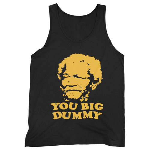 Our cotton sanford and son you big dummy men tank top is perfect for those intense workouts in the gym, at practice or pickup games.