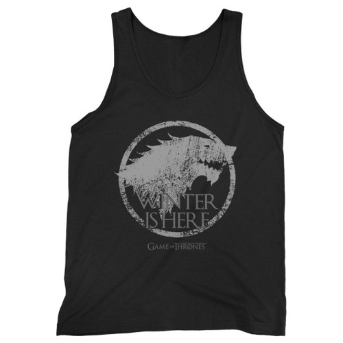 Our cotton winter is here men tank top is perfect for those intense workouts in the gym, at practice or pickup games.