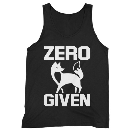 Our cotton zero fox given men tank top is perfect for those intense workouts in the gym, at practice or pickup games.