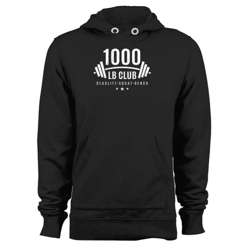 Was created with comfort in mind, this 1000 lb club weightlifting hoodie lighter weight is perfect for any activity. Teams and groups love this hoodie for its affordable price and variety of colors.