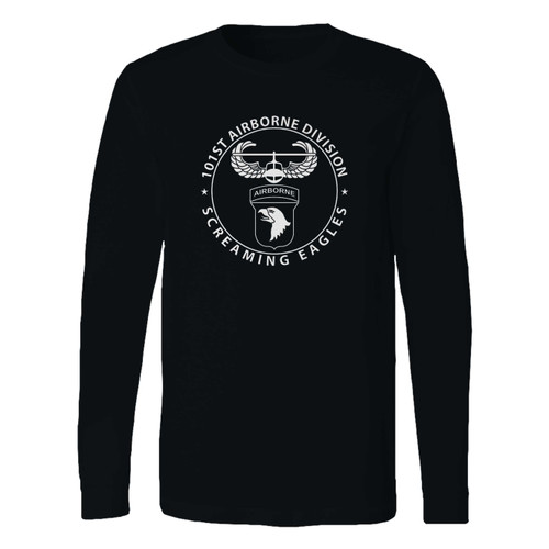 This classic fit 101st airborne division long sleeve shirt is casually elegant and very comfortable. With fine quality print to make one stand out, it's a perfect fit for every occasion.