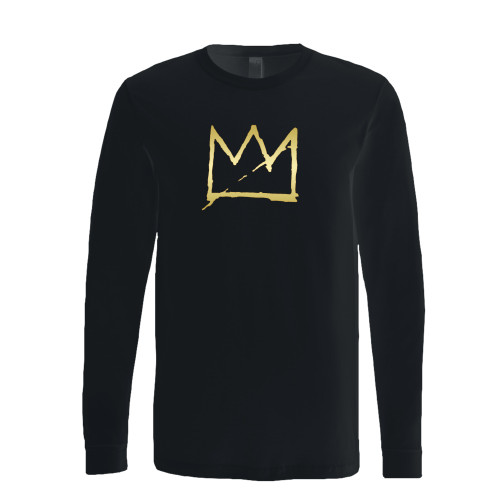 This classic fit basquiat crown jean michel basquiat long sleeve shirt is casually elegant and very comfortable. With fine quality print to make one stand out, it's a perfect fit for every occasion.