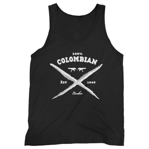 Our cotton 100 colombian pablo escobar men tank top is perfect for those intense workouts in the gym, at practice or pickup games.