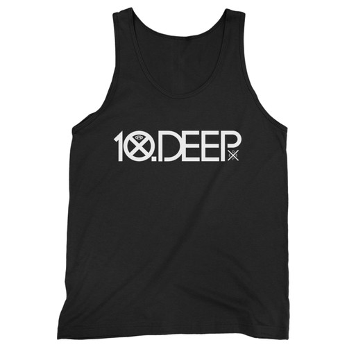 Our cotton 10 deep logo men tank top is perfect for those intense workouts in the gym, at practice or pickup games.