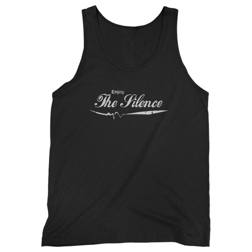 Our cotton enjoy the silence - depeche mode vintage coca cola parody cropped men tank top is perfect for those intense workouts in the gym, at practice or pickup games.