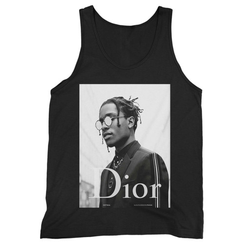 Our cotton asap rocky dior men tank top is perfect for those intense workouts in the gym, at practice or pickup games.