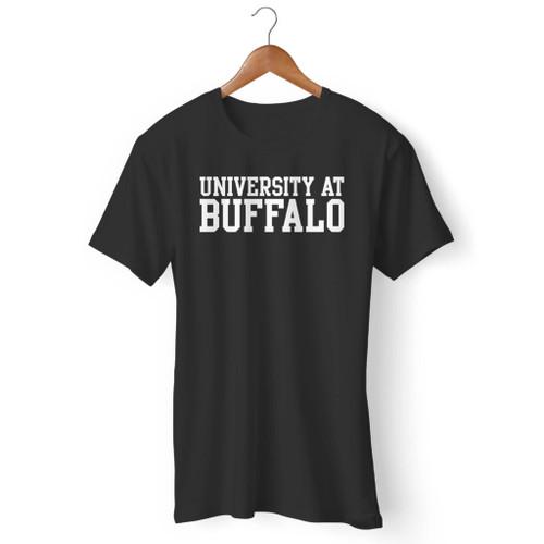 University At Buffalo Basic Block Men T Shirt