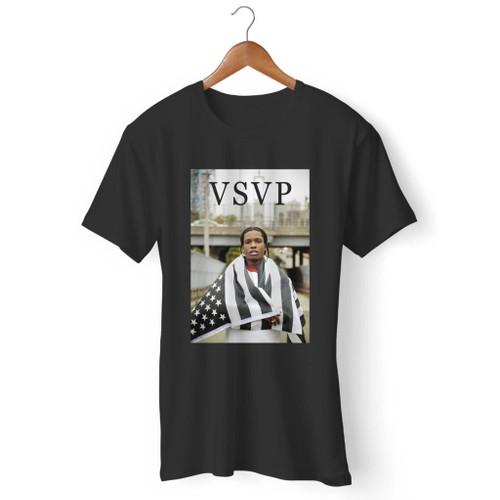 Asap Rocky Wma Flag Men T Shirt