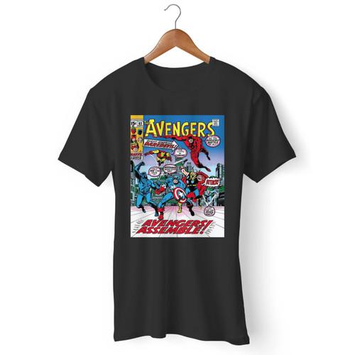 Avengers Assemble Art Men T Shirt