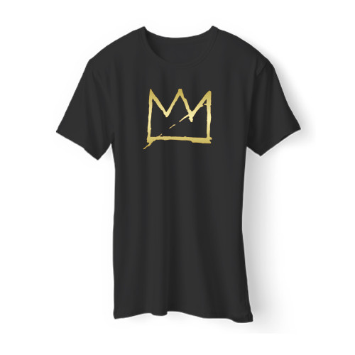 Basquiat Crown Jean Michel Basquiat Men T Shirt