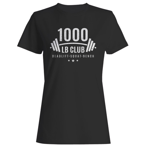 These are 1000 lb club weightlifting women t shirt that are cute tied to the side or paired with a cardigan or jacket for a more styled look. So comfy and classic, they are sure to make your vacation extra magical.