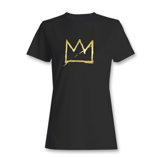 These are basquiat crown jean michel basquiat women t shirt that are cute tied to the side or paired with a cardigan or jacket for a more styled look. So comfy and classic, they are sure to make your vacation extra magical.
