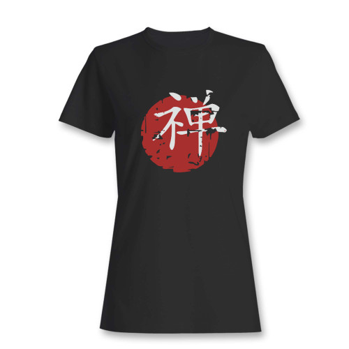 These are chinese japanese zen symbol women t shirt that are cute tied to the side or paired with a cardigan or jacket for a more styled look. So comfy and classic, they are sure to make your vacation extra magical.