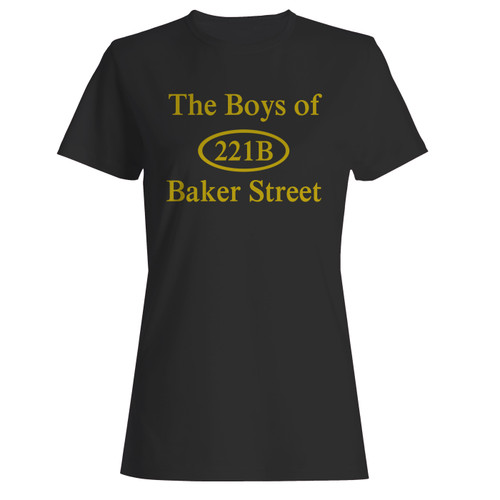 These are 221b baker street women t shirt that are cute tied to the side or paired with a cardigan or jacket for a more styled look. So comfy and classic, they are sure to make your vacation extra magical.