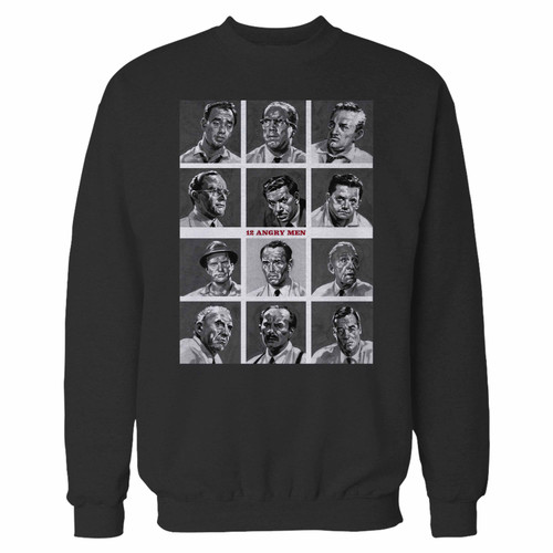 Your 12 angry men crewneck sweatshirt just got an update. This super comfortable and lighter weight crewneck will become your favorite go-to sweatshirt. The cozy spandex cuffs and waistband make this pill-resistant sweatshirt a fan favorite.And your group will look and feel their best in this premium ringspun cotton crew.