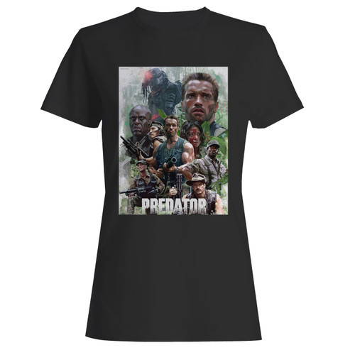 These are arnold schwarzenegger the predator alien women t shirt that are cute tied to the side or paired with a cardigan or jacket for a more styled look. So comfy and classic, they are sure to make your vacation extra magical.