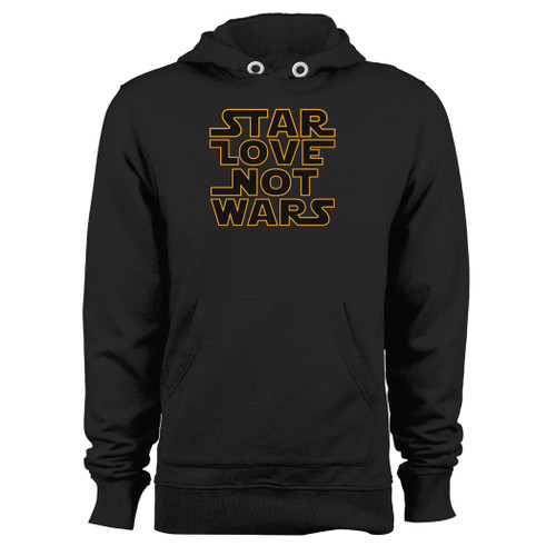 Was created with comfort in mind, this star wars quote star love not wars hoodie lighter weight is perfect for any activity. Teams and groups love this hoodie for its affordable price and variety of colors.