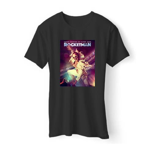 Rocketman Poster Men T Shirt