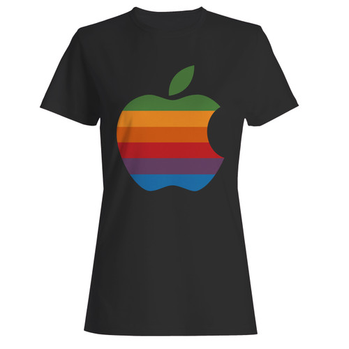 These are colorful apple logo women t shirt that are cute tied to the side or paired with a cardigan or jacket for a more styled look. So comfy and classic, they are sure to make your vacation extra magical.