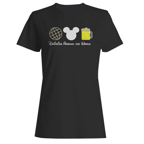 These are drinking around the world beer epcot disney women t shirt that are cute tied to the side or paired with a cardigan or jacket for a more styled look. So comfy and classic, they are sure to make your vacation extra magical.