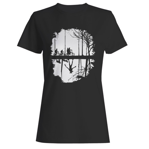 These are upside down demogorgon dungeons and dragons women t shirt that are cute tied to the side or paired with a cardigan or jacket for a more styled look. So comfy and classic, they are sure to make your vacation extra magical.