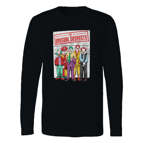 This classic fit unusual suspects movie parody long sleeve shirt is casually elegant and very comfortable. With fine quality print to make one stand out, it's a perfect fit for every occasion.