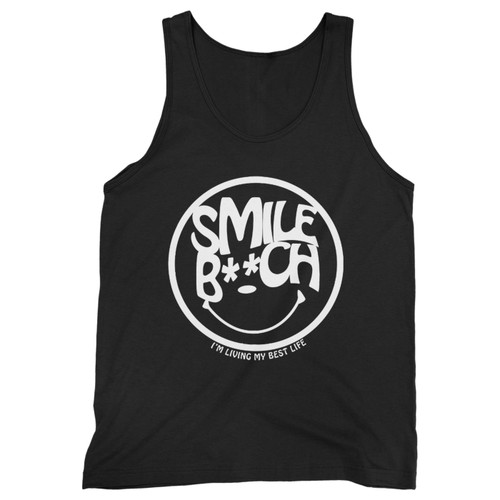 Our cotton smile bitch men tank top is perfect for those intense workouts in the gym, at practice or pickup games.