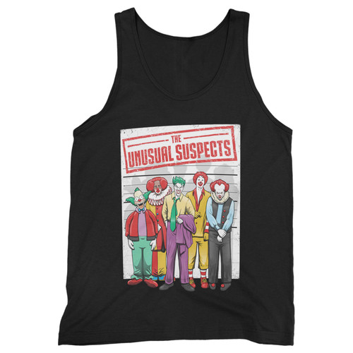 Our cotton unusual suspects movie parody men tank top is perfect for those intense workouts in the gym, at practice or pickup games.