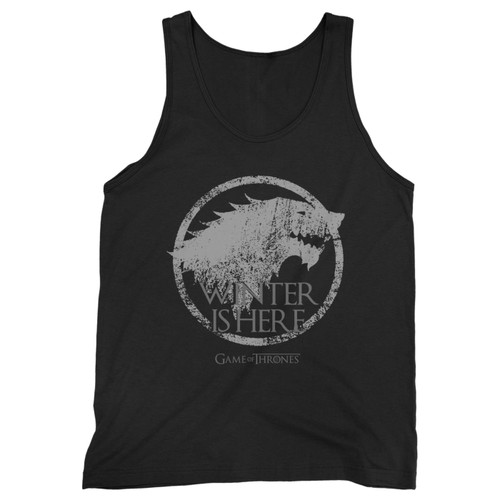 Our cotton winter is here inspired men tank top is perfect for those intense workouts in the gym, at practice or pickup games.